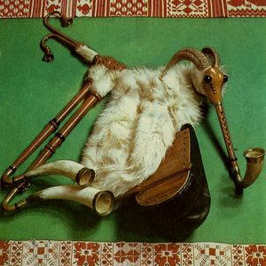 Україньский різновид волинки - коза