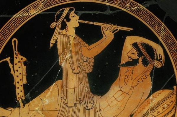 Музиканти в давнину