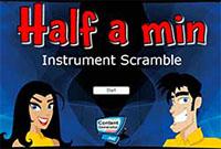 Музична гра онлайн, Відгадай назву музичного інструменту