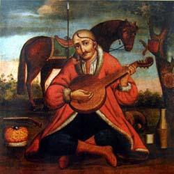 Музичний інструмент Бандура