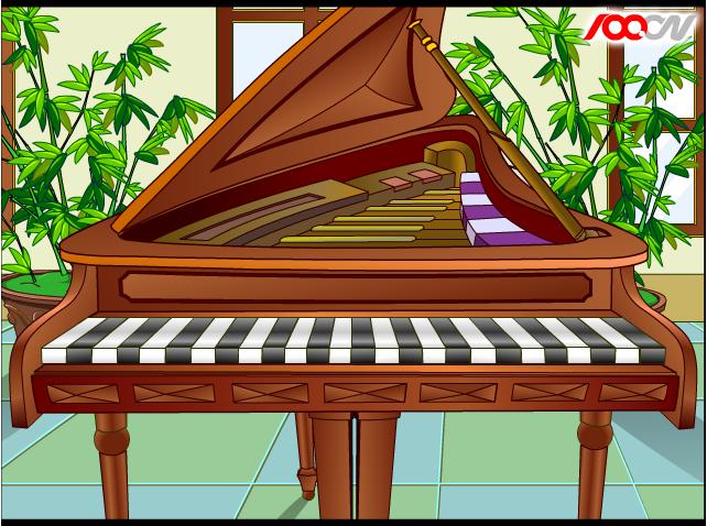 Музична гра онлайн, Віртуальне піаніно
