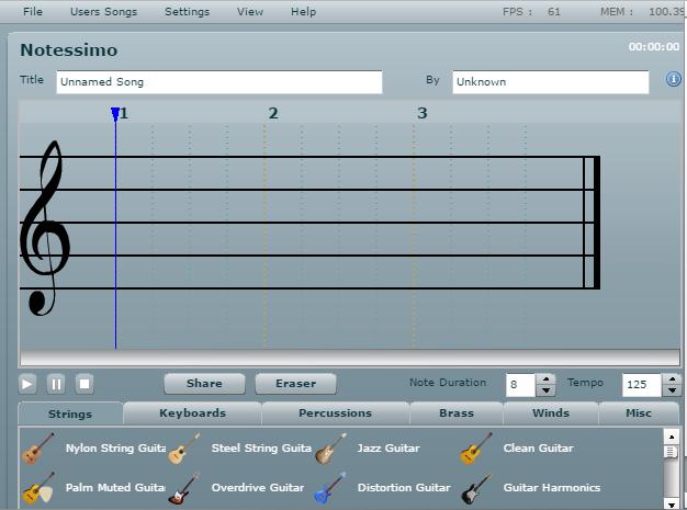 Музична гра онлайн, Створіть свою власну музику