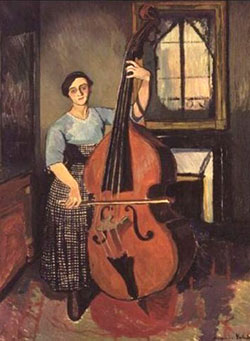 Музичний інструмент контрабас