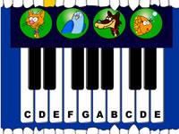 Музична гра онлайн, Грай мелодію голосами різних тваринок