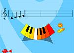Музична гра онлайн, Сстудія для юних композиторів
