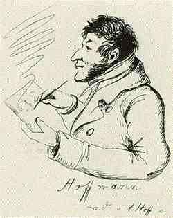 Карикатура Йоганнес Брамс