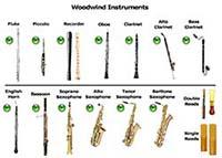 Музична гра онлайн, Прослухайте звучання дерев'яних музичних інструментів