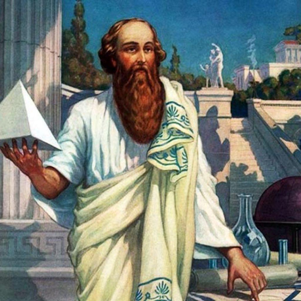 теоретик та математик Піфагор