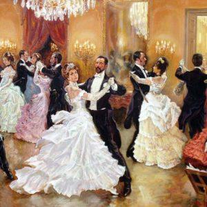 аристократичний салон і вальс