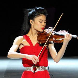 Дівчина зі скрипкою Ванесса Мей