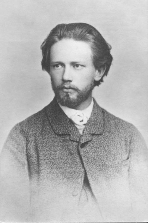Молодий Петро Чайковський